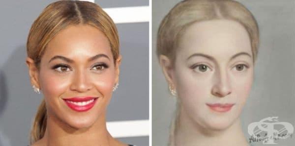 25 знаменитости в ренесансови портрети - изображение
