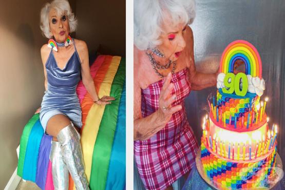 30 снимки на най-готината баба в интеренет - Бади Уинкъл - изображение
