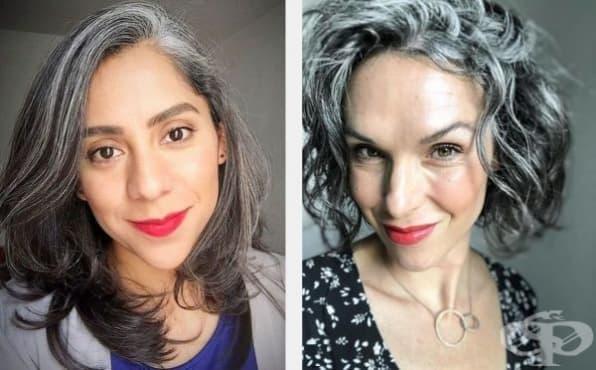 30 млади жени с посивели коси, които изглеждат страхотно - изображение