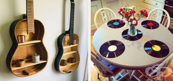 30 творчески идеи за повторно използване на старите вещи, които сте планирали да изхвърлите - изображение