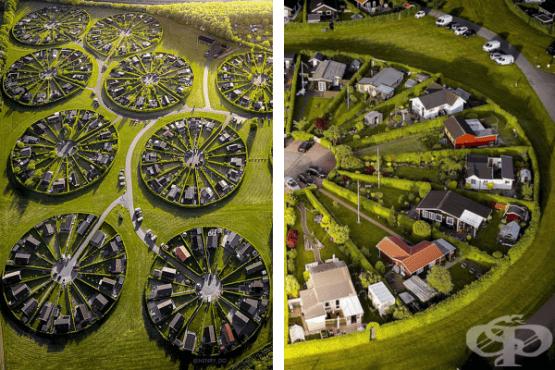 10 снимки представят сюрреалистичните кръгови градини в Дания - изображение