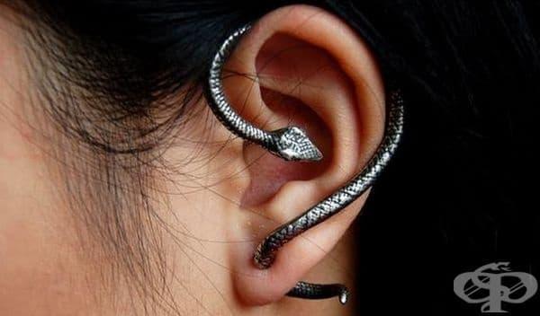 30 варианта за ефектни аксесоари на ушите - изображение