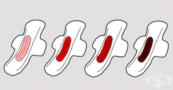 Ето какво разкрива промяната в цвета на кръвта по време на менструален цикъл за вашето здраве - изображение