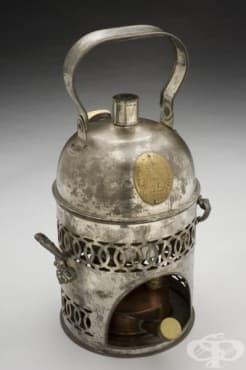 Чайник за лечение на бронхит от 1840г.  - изображение