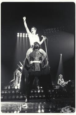 Фреди Меркюри и Дарт Вейдър - 1980 - изображение