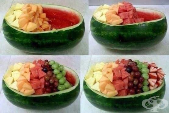 Идея за различно поднасяне на летните плодове - изображение