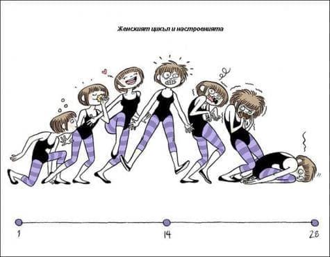 Иронични комикси, свързани с женското ежедневие (1 част) - изображение