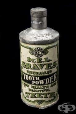 Пудра за здрави и бели зъби от 1906г. - изображение