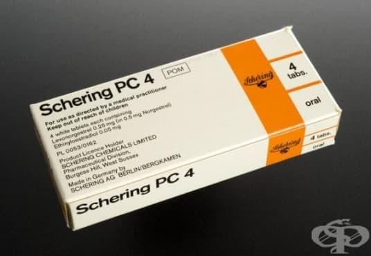 """Контрацептивни таблетки на компания """"Schering"""" от 1986 година  - изображение"""