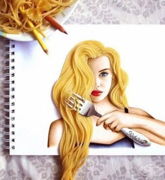 Илюстрациите на една млада и креативна художничка - изображение