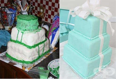15 ужасни сватбени торти, които буквално разплакват младоженците - изображение
