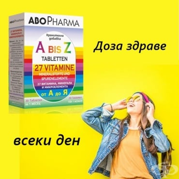 Какво знаете за витамините A-Z? - изображение