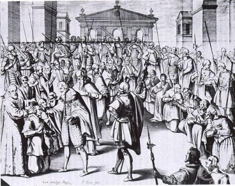 Суеверни схващания за туберкулозата от Средновековна Европа  - изображение