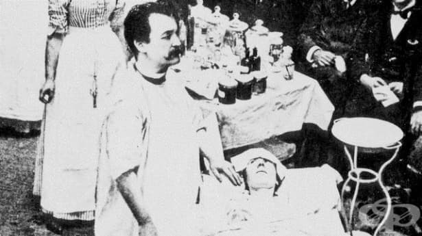 Никълъс Сен – лекарят, който в името на науката се напомпва с 6 л водород през ректума - изображение