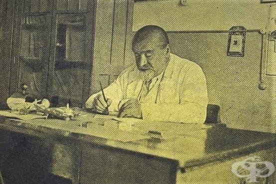Проф. д-р Параскев Стоянов - хирург, новатор и патрон на МУ Варна - изображение