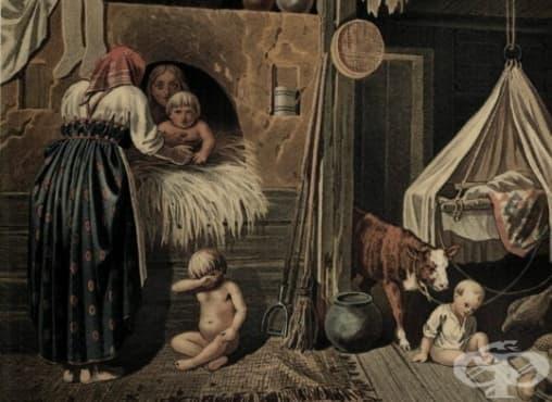 Перепекание - защо руснаците поставят децата си в пещ през Средновековието - изображение