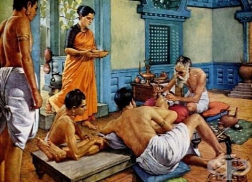 Сушрута Самхита и първите пластични операции, правени в Древна Индия - изображение
