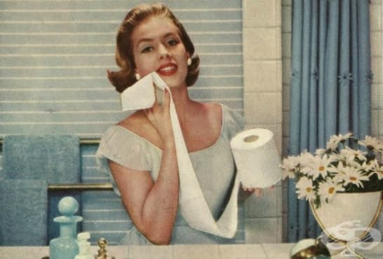 Какво са ползвали хората преди тоалетната хартия - изображение