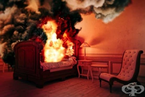 """История на феномена """"Спонтанно човешко самозапалване"""" - изображение"""