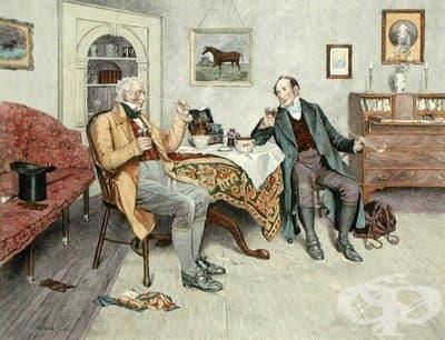 Първите пушачи в Англия смятат, че тютюнът е полезен  - изображение