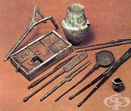 История на медицинска апаратура - изображение