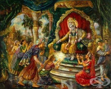Вариола в Древна Индия - изображение
