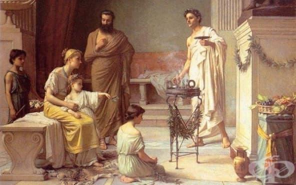 Методи за лекуване на рак в Древна Елада - изображение