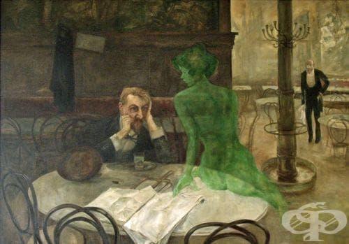 Абсентизмът: фиктивният синдром на деветнадесети век - изображение