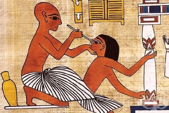 Разтопен метал и кремъчна бургия - болезнените зъболекарски практики от Античността - изображение