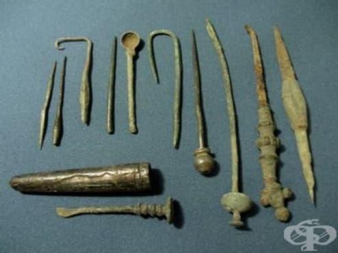 Антични хирургически инструменти по нашите земи от времето на римската епоха - изображение