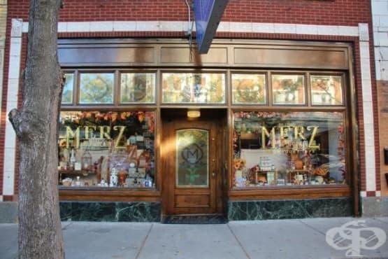Аптеката на Питър Мерц от 1875 година – умело съчетание на предприемчивия дух на САЩ и европейската фармацевтична традиция, примесена с аромат на билкови масла - изображение