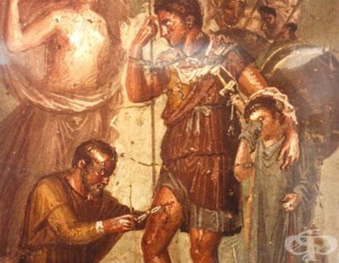 Аркагат, първият римски медик - изображение