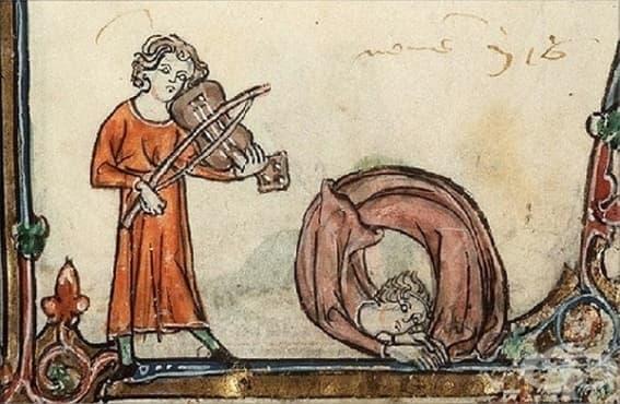 Рисунки от Средновековието, илюстриращи чувството за хумор на европейците преди стотици години - изображение