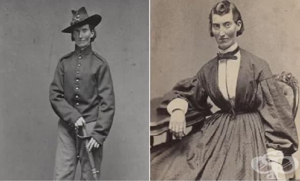 Стотици смели мъже, участвали в Гражданската война в САЩ, всъщност били жени - изображение