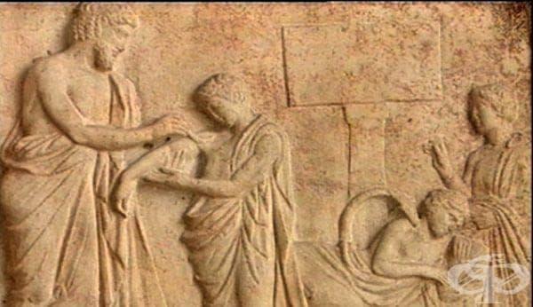 Цезарово сечение в гръко-римския период - изображение