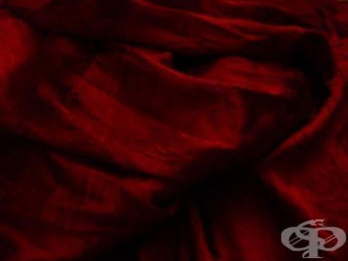 Суеверие за червеното лечение на вариола - изображение