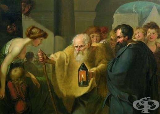 """Най-известните случаи от живота на Диоген, наречен """"Първият циник"""" - изображение"""