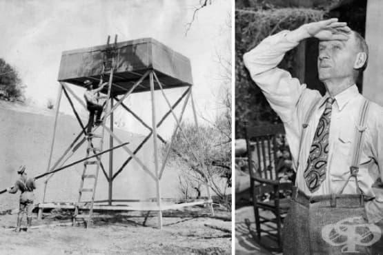 """Чарлз Хетфийлд - """"дъждотворецът"""", предизвикал наводнение в Сан Диего - изображение"""