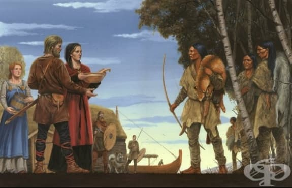 Защо викингите не причиняват пандемия в Америка - въпрос, тормозещ учените и до днес - изображение