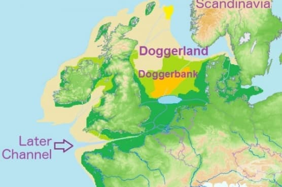 Догерланд - Британската Атлантида - изображение