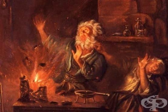 Как немски алхимик открива фосфора, пробвайки да извлече сребро от урина - изображение