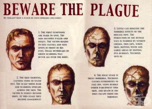 Догадки за причините за чумната пандемия и съвети за лечение на болестта през шестнадесети и седемнадесети век в Англия - изображение