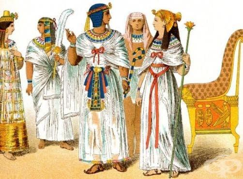 Древноегипетска рецепта за борба с признаците на стареенето по кожата, описана в Едуин Смит папирус  - изображение