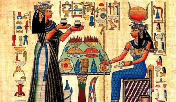 Древноегипетски терапевтични режими за специфични заболявания - изображение