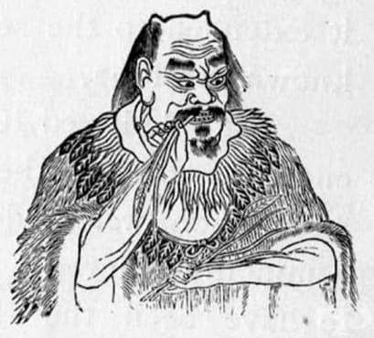 Древнокитайски труд, описващ билково лечение на астматичен пристъп - изображение