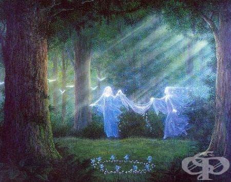 Добри и зли духове в медицинската история - изображение