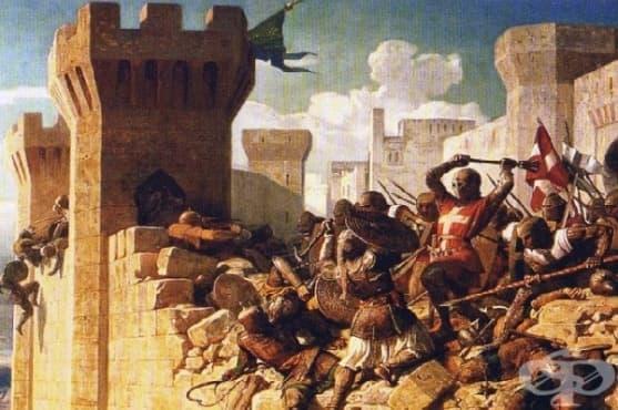 Лазаритите - Рицарският орден, чиито членове до един са болни от проказа - изображение