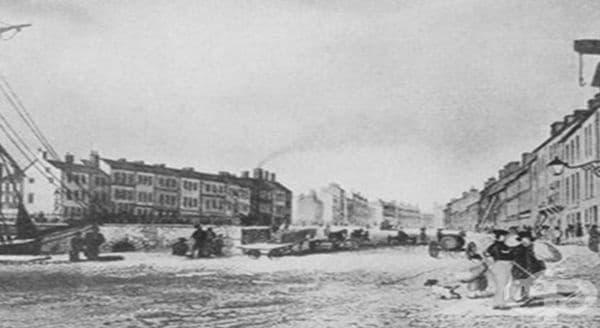 Епидемиите от холера в Белфаст през 19-ти век    - изображение