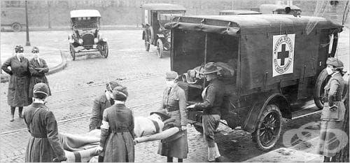 Епидемия от испански грип през 1918 година - изображение