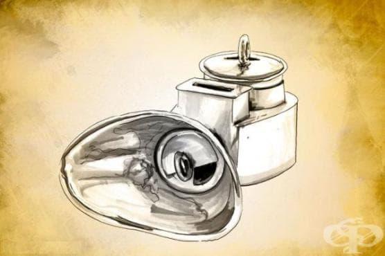Етеров инхалатор на Едуард Мърфи от 1847 година - изображение